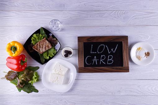 Atkins diet stock photos