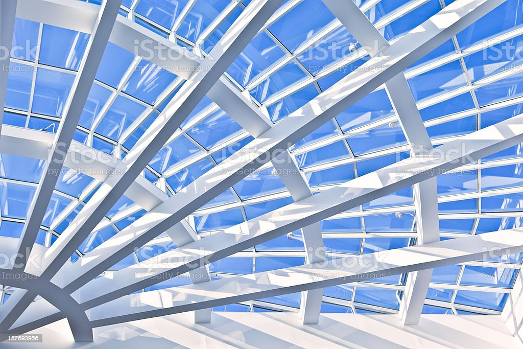 Atlanta Architecture Interior Detail stock photo