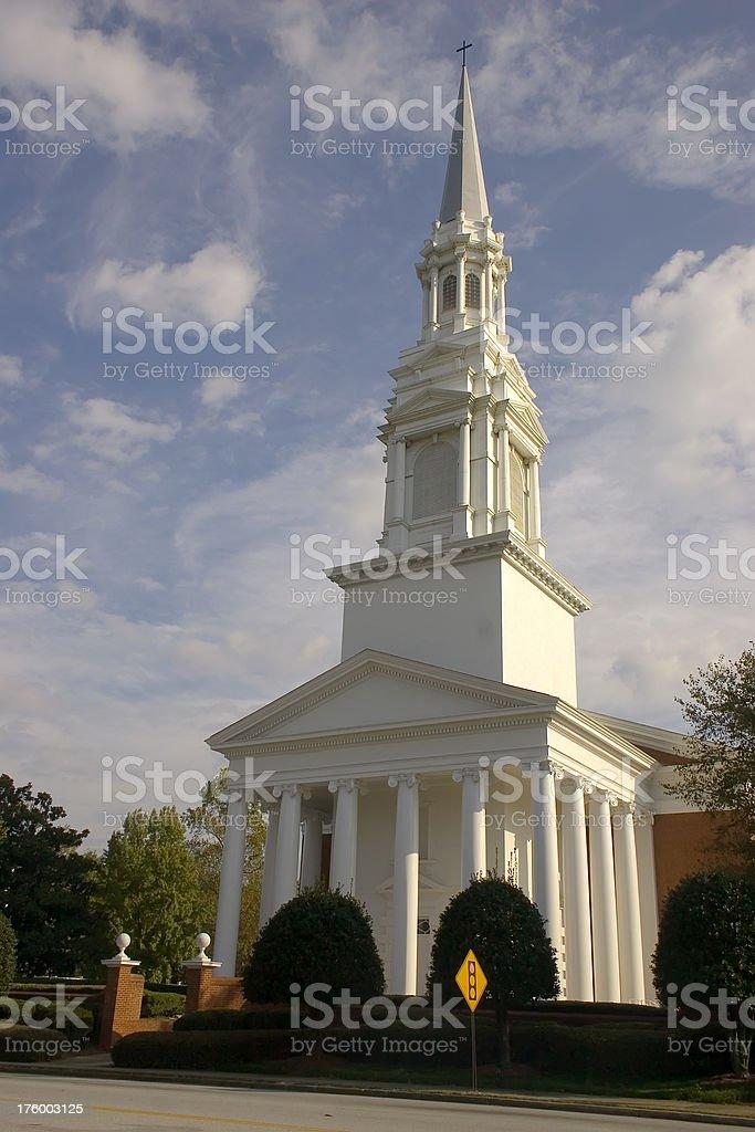 Atlanta Baptist Church stock photo