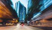 Vibrant cityscape of Atlanta