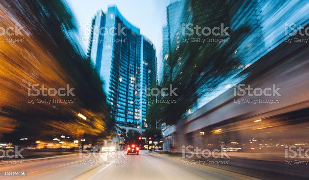 Atlanta city scenes stock photo