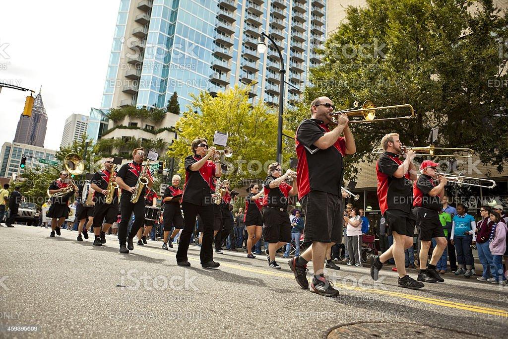 Atlanta Freedom Bands stock photo