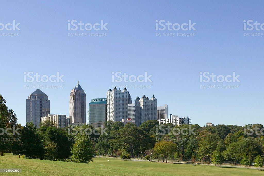 Atlanta, Ga stock photo