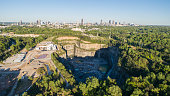 Atlanta Georgia Bellwood Quarry From A Drones Perspective