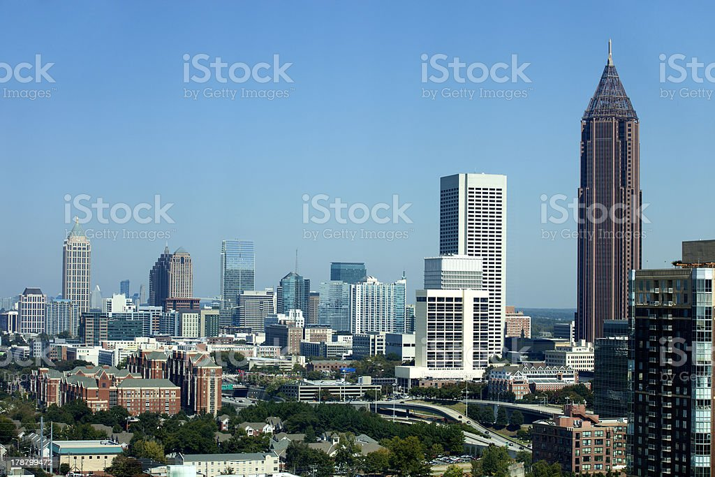 Atlanta Georgia stock photo