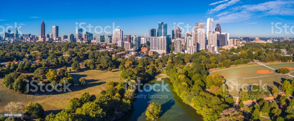 Atlanta Georgia Skyline stock photo