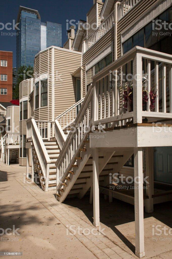 Atlanta Georgia Usa July 29 2015 Stair Access To The