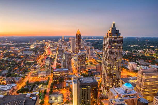 Atlanta, Georgia, USA stock photo