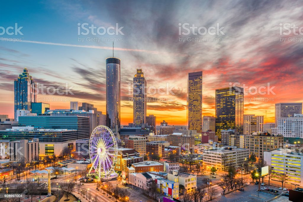 Atlanta, Georgia, USA stock photo