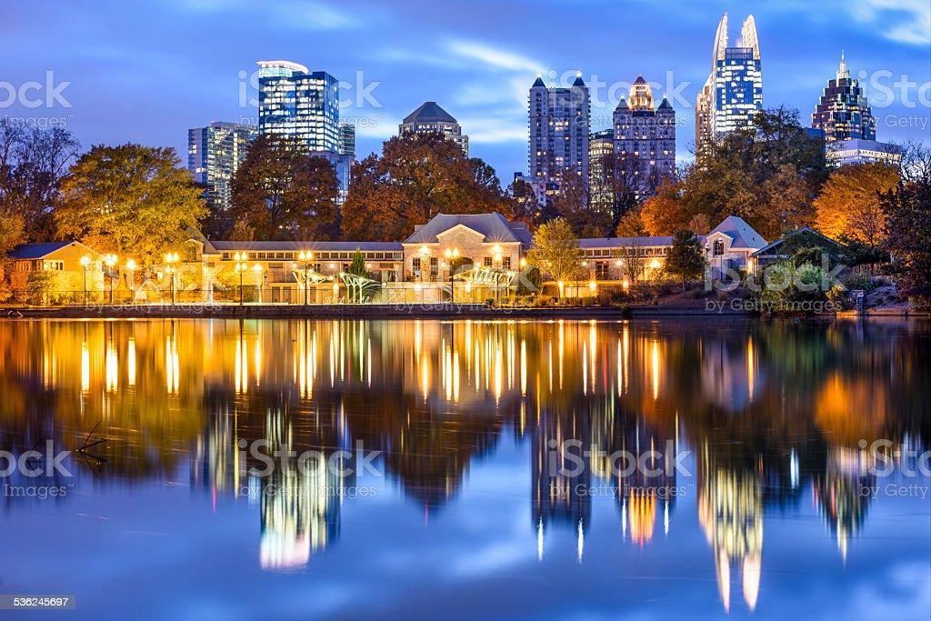 Atlanta, Georiga Cityscape stock photo