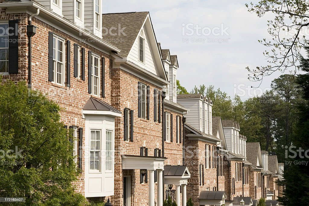 Atlanta luxury home stock photo