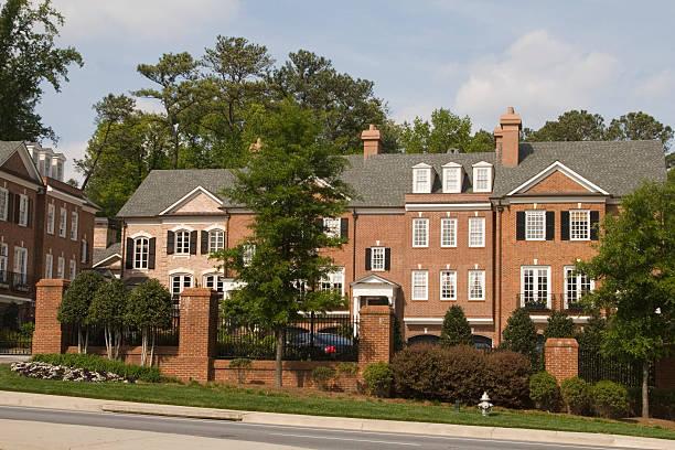 Atlanta luxury home stock photo