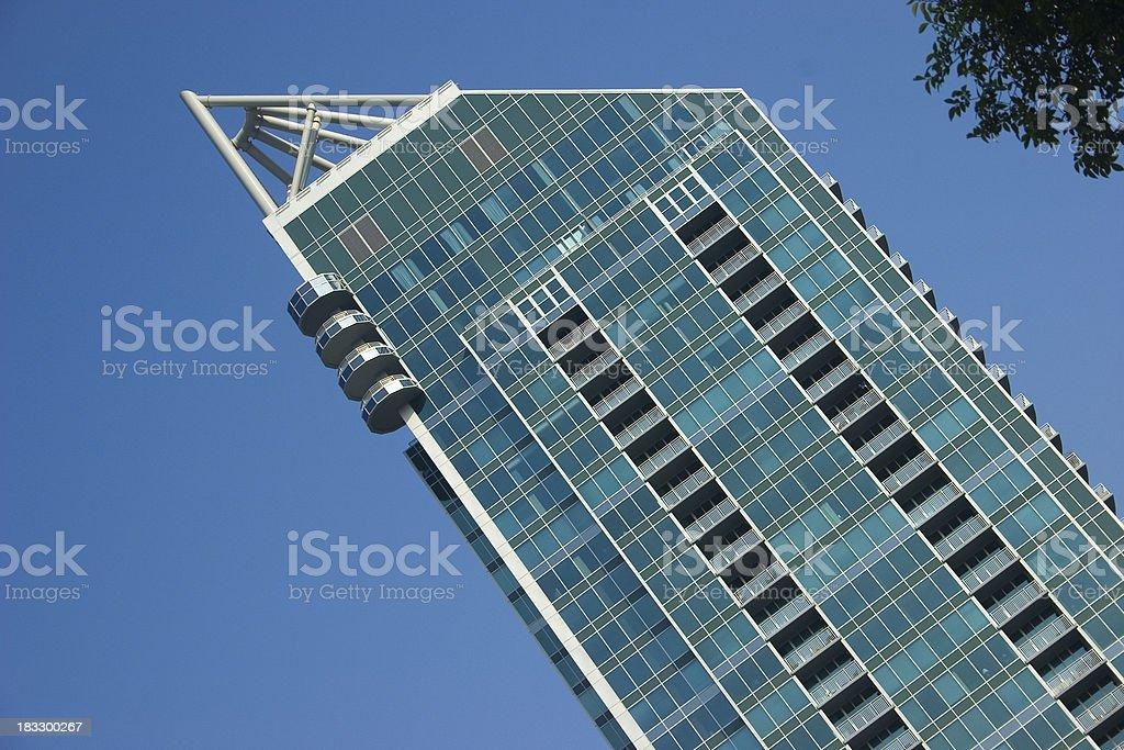 Atlanta Modern Architecture royalty-free stock photo