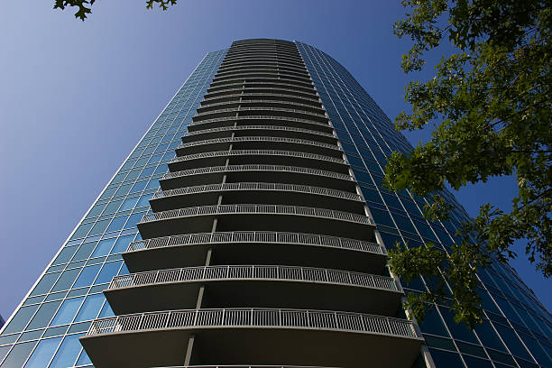 Atlanta Modern Architecture stock photo