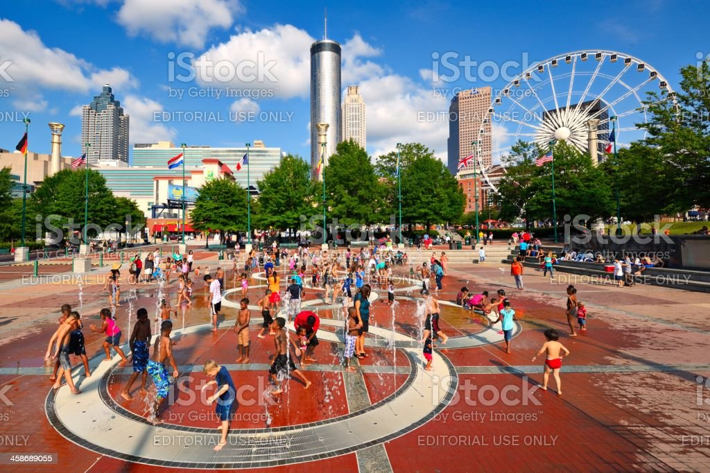 Atlanta Park stock photo