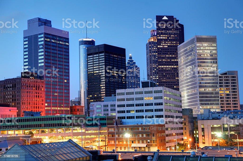 Atlanta royalty-free stock photo