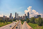 Daytime cityscape of Atlanta