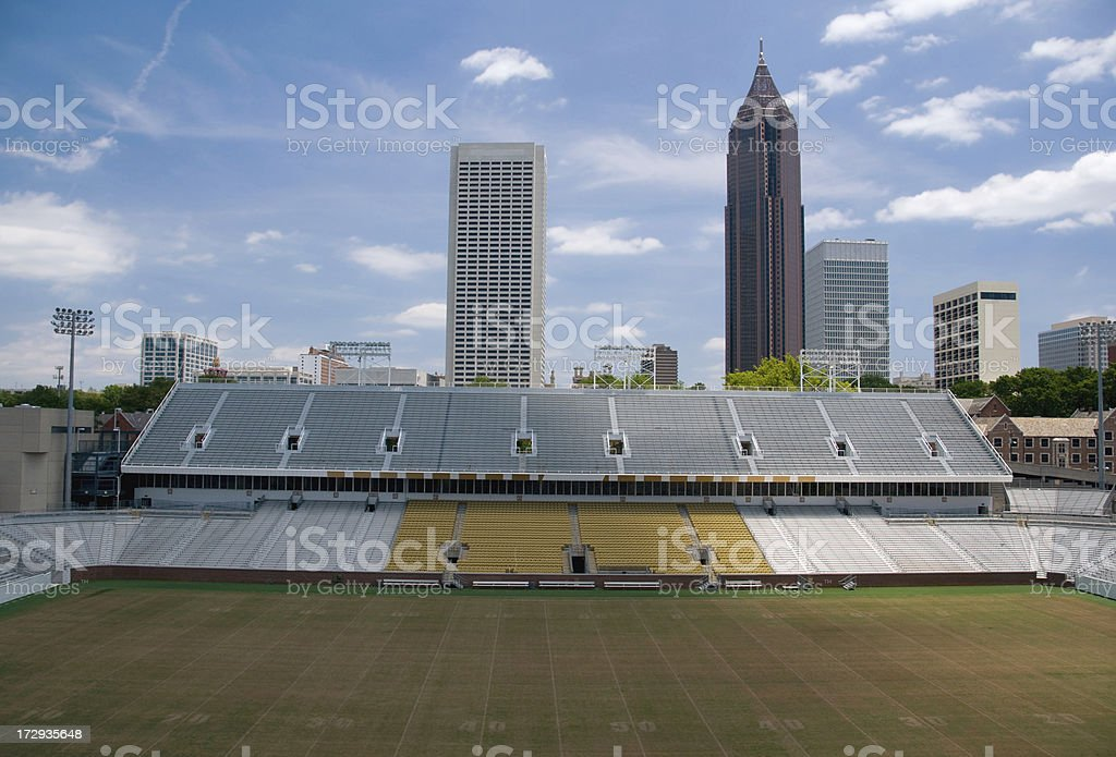 Atlanta skyline royalty-free stock photo