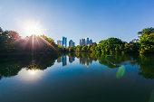 Piedmont Park,  Atlanta, Georgia, USA.
