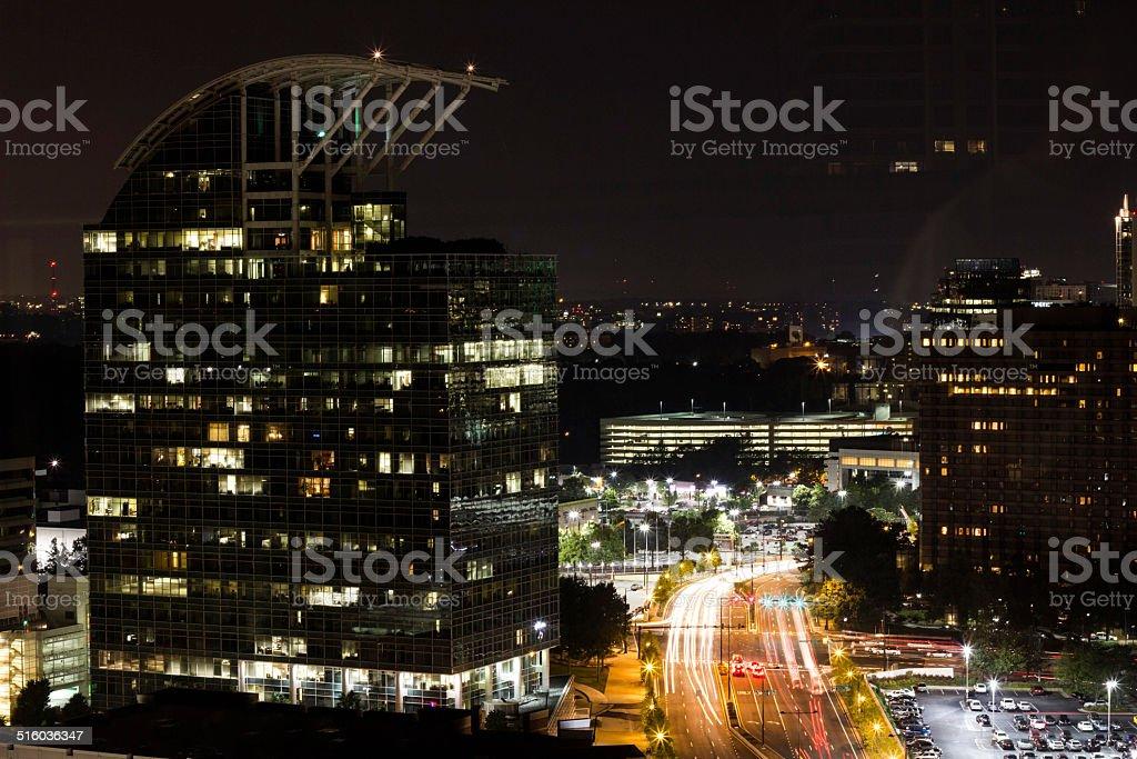Atlanta's city scape stock photo