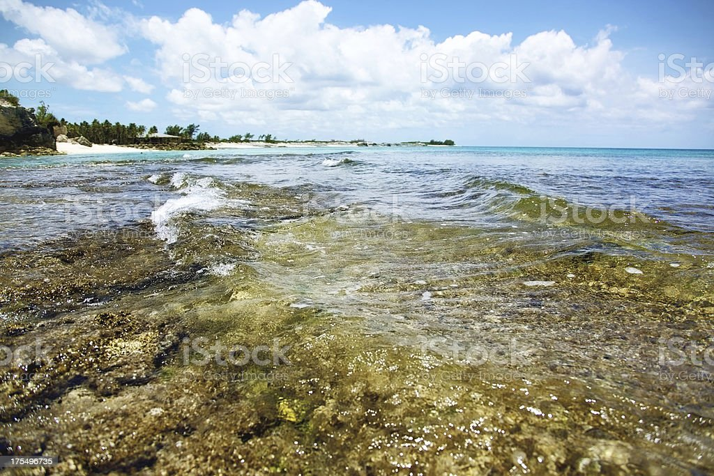 Atlantic Bahamas ocean tropical beauty royalty-free stock photo