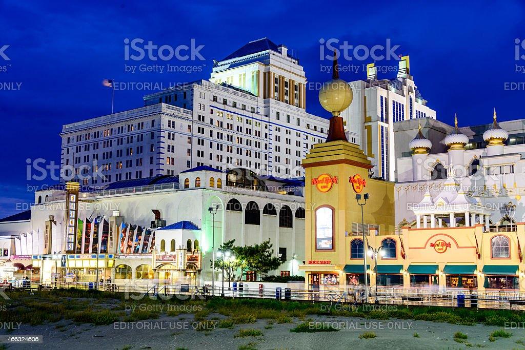 Atlantic City Casinos stock photo