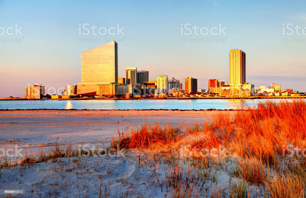 Atlantic City, New Jersey stock photo