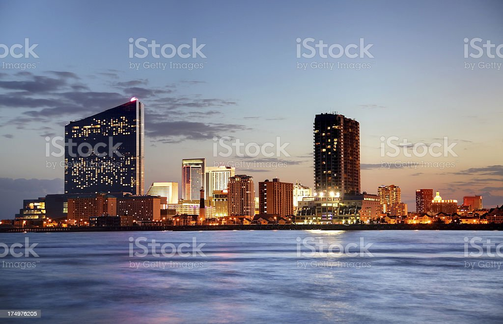 Atlantic City stock photo