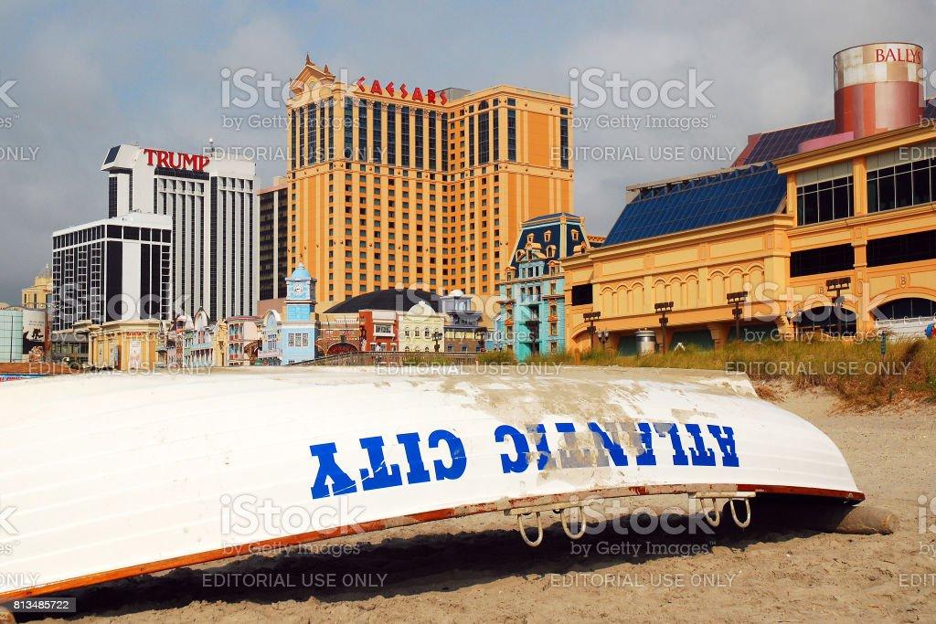 Atlantic City stock photo