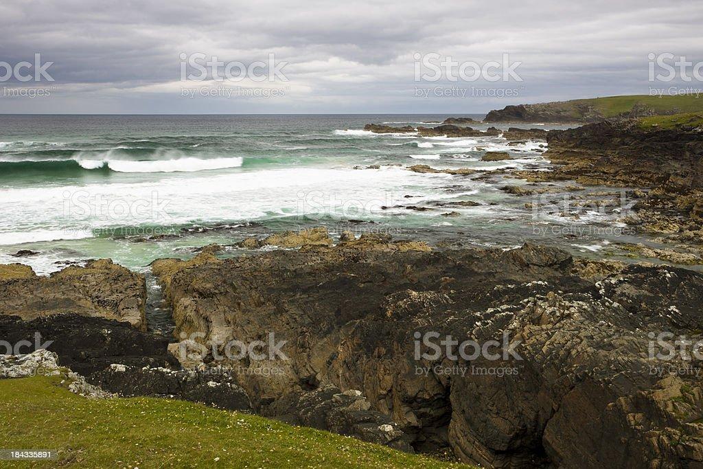 Eoropie cliffs, Isle of Lewis, Scotland, UK,