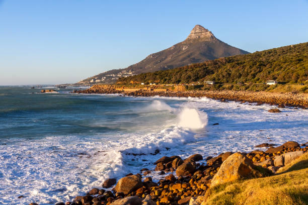Atlantic Coastline, South Africa stock photo