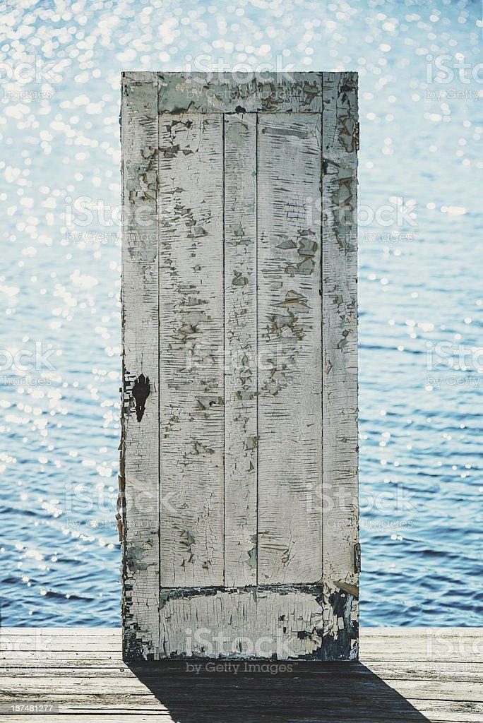Atlantic Doorway royalty-free stock photo
