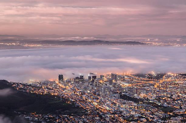 Atlantic Fog over Cape Town – Foto