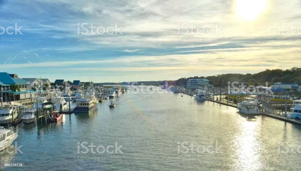 Atlantic Intracoastal Waterway stock photo