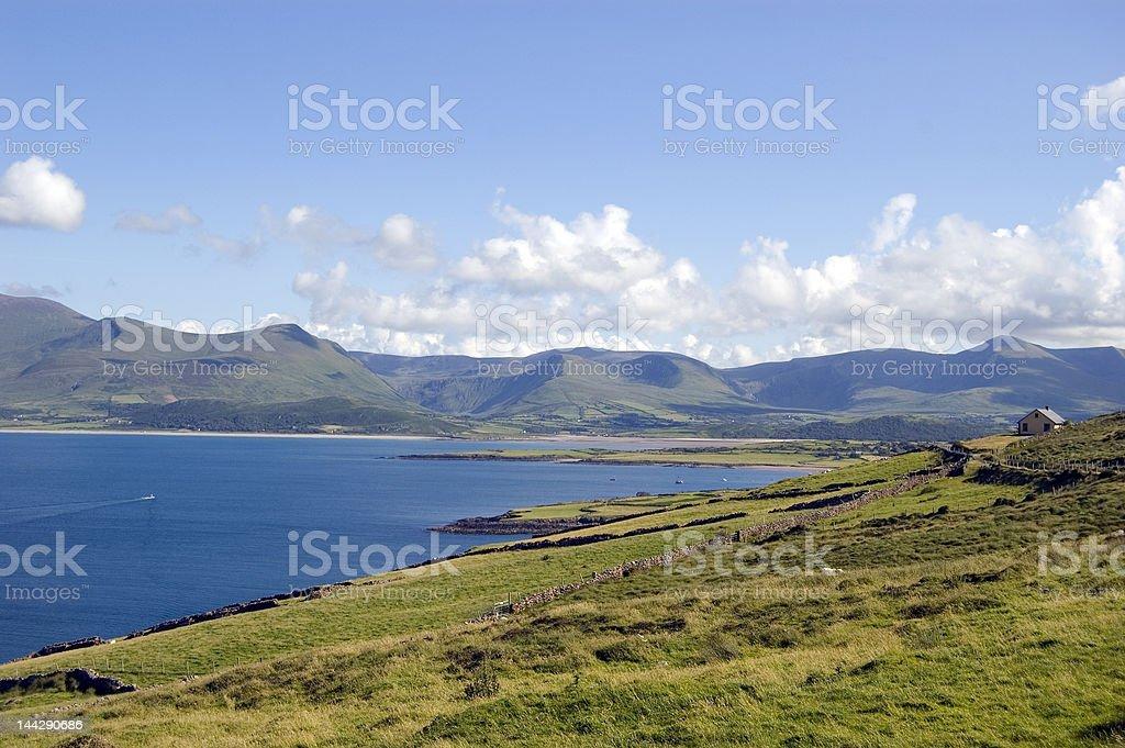 Atlantic ocean in Ireland royalty-free stock photo