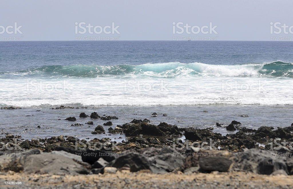 Atlantic ocean royalty-free stock photo