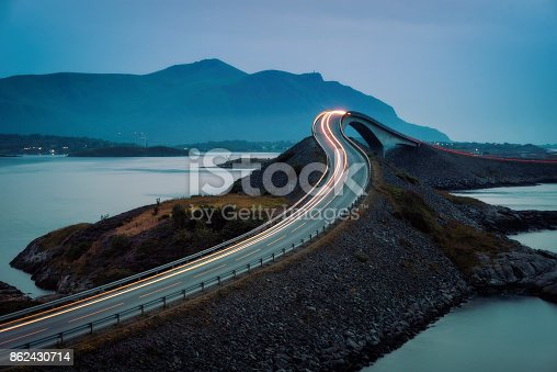 Atlantic Ocean Road Norway taken in 2017
