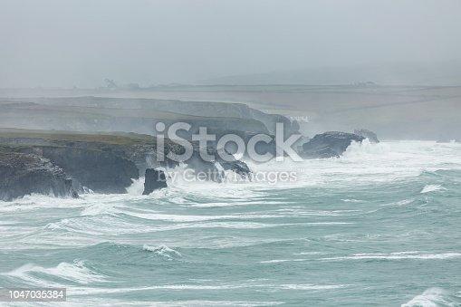 Atlantic Storm, Constantine Bay, Cornwall