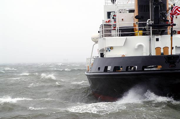 Atlantic Storm stock photo