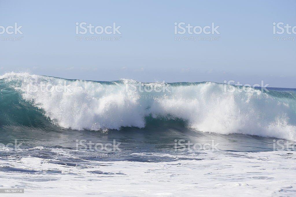 Atlantic Waves royalty-free stock photo