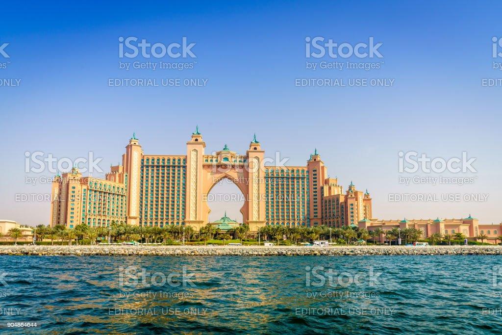 Atlantis Palm Dubai stock photo