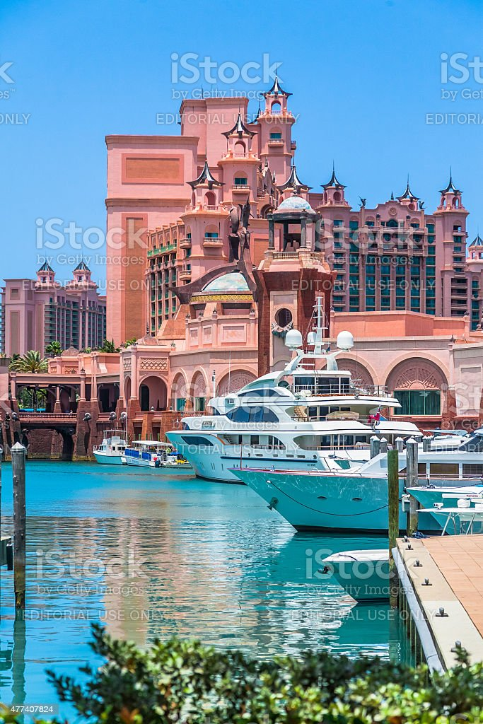 Atlantis Paradise Island stock photo