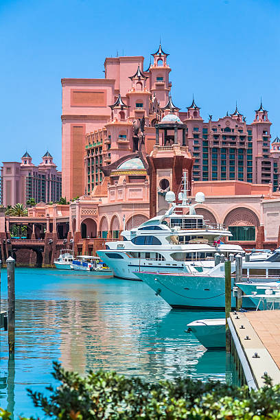 Atlantis Paradise Island stock photo