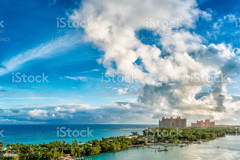 Atlantis Paradise Island Resort stock photo