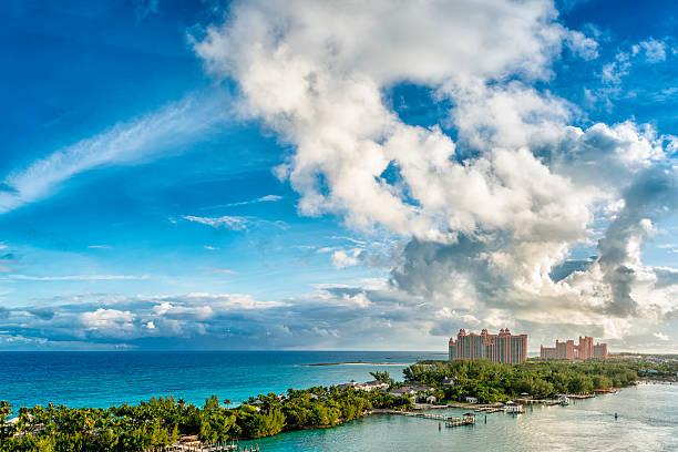 atlantis paradise island resort - nassau new providence stockfoto's en -beelden