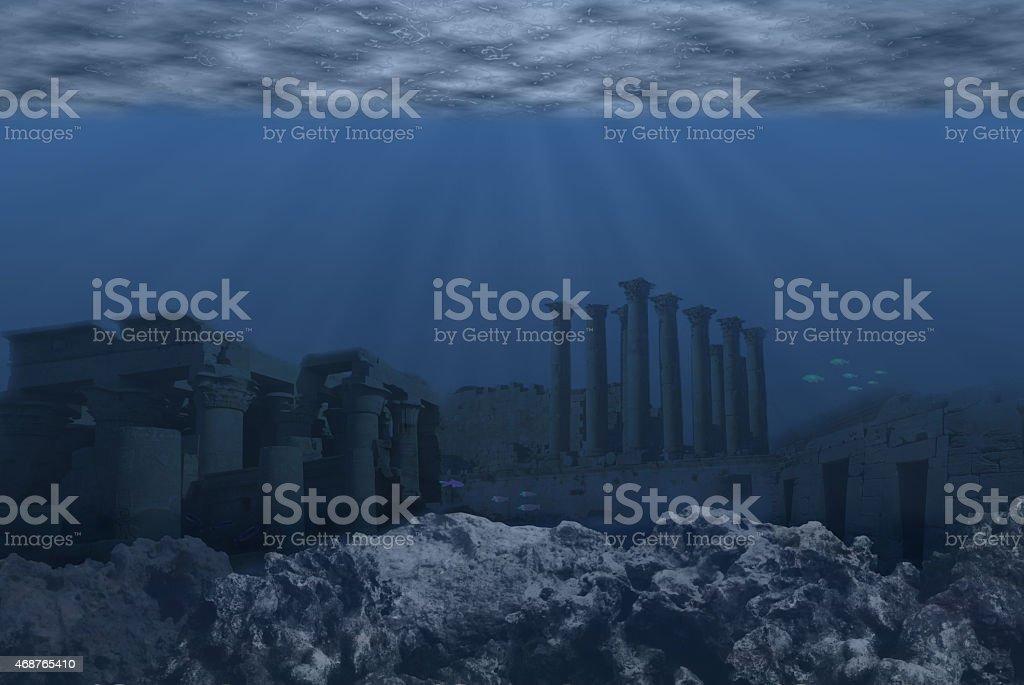 Atlantis stock photo