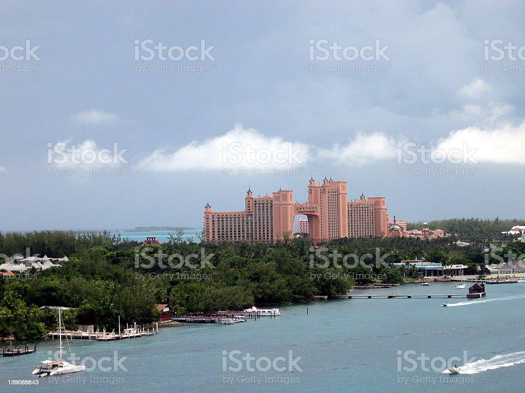 Atlantis Resort, Bahamas. royalty-free stock photo