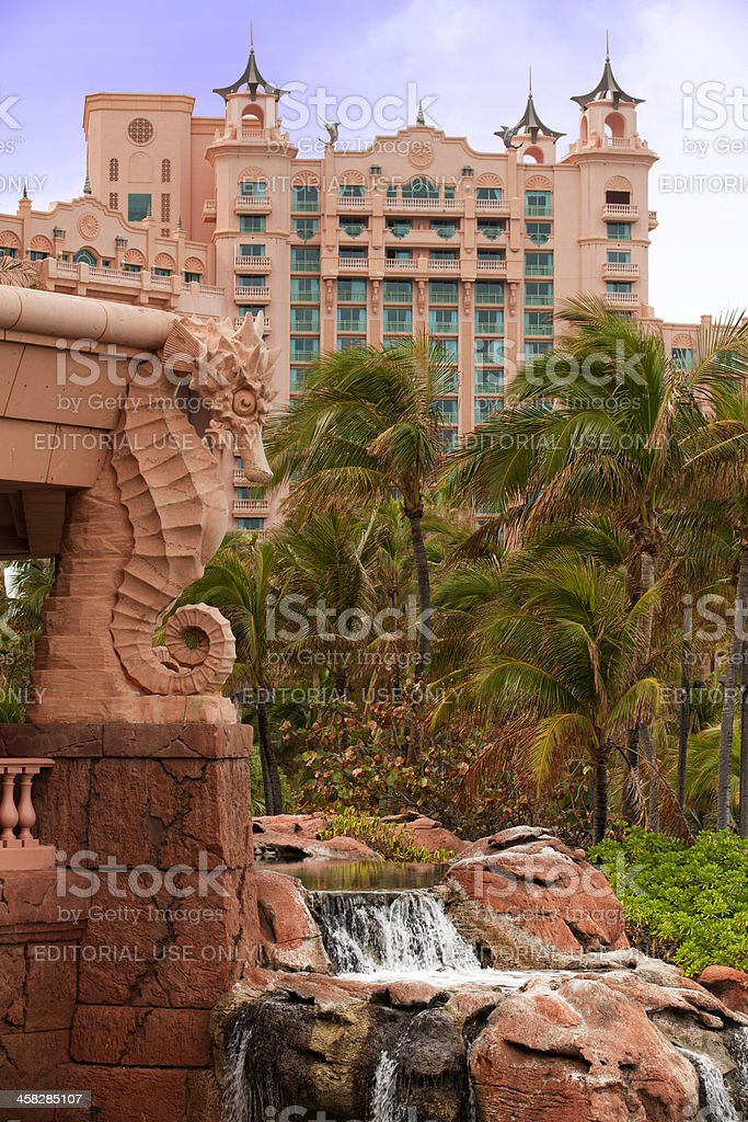 Atlantis Resort, Bahamas stock photo