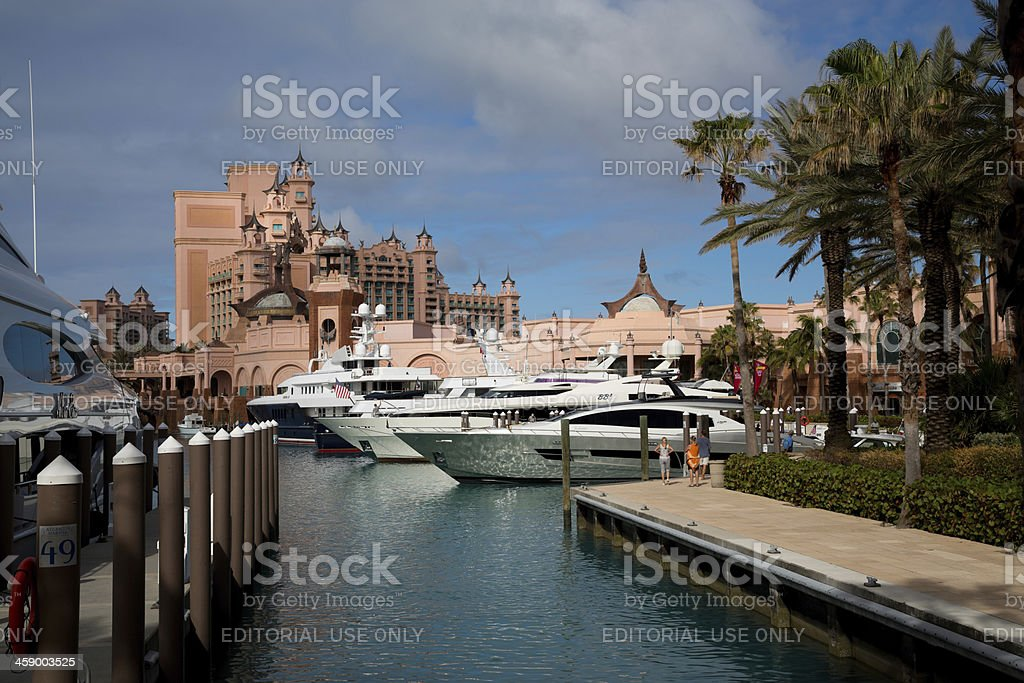 Atlantis Resort In Nassau Bahamas Paradise Island Stock Photo Download Image Now Istock