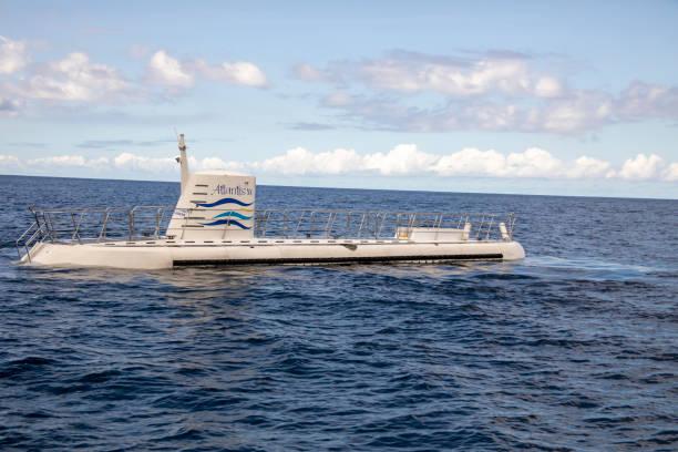 Atlantis Submarine Barbados stock photo